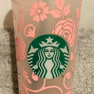Floral Starbucks Cup